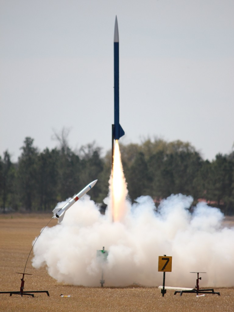 High Power Launch at NEFAR